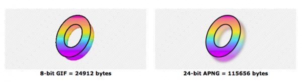 GIF与APNG图片效果对比