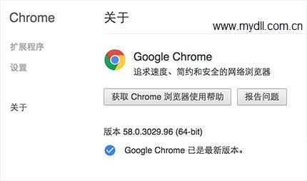 58.0.3029.96版Google Chrome