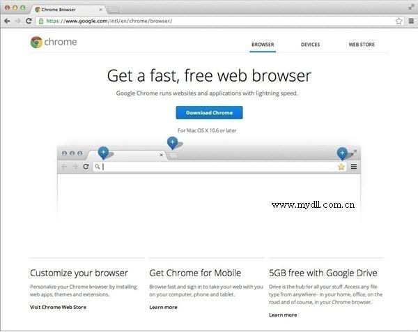 Chrome Mac版下载