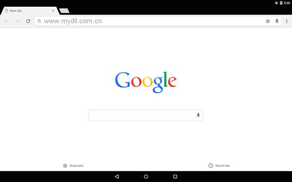 简洁的Chrome浏览器