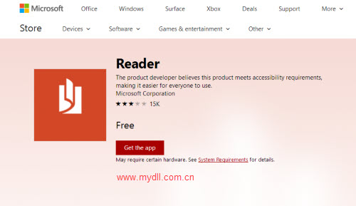 微软Reader阅读器