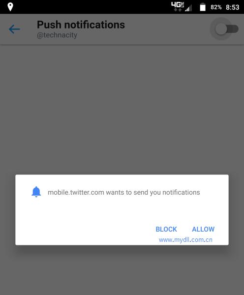 安卓版Chrome63弹窗提醒