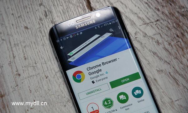 三星手机和Chrome浏览器