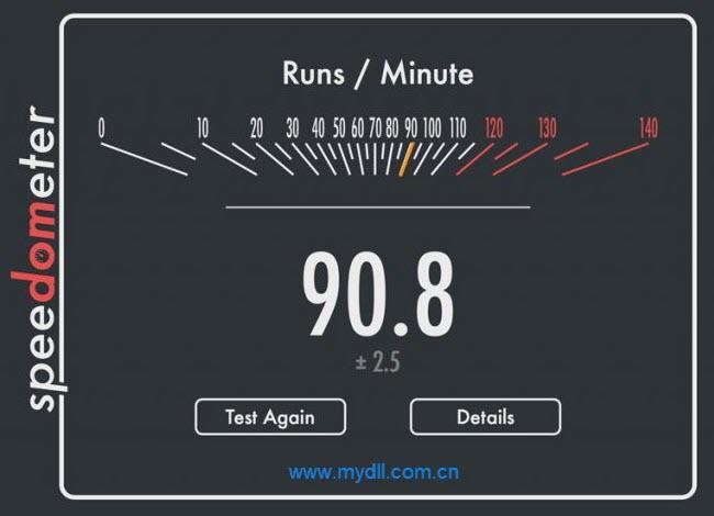 Safari浏览器Speedometer 2.0 测试得分