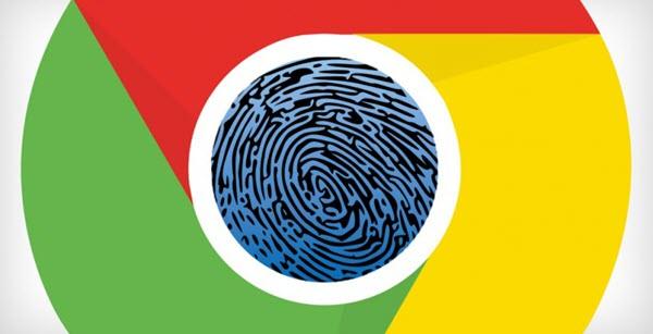 指纹触控Chrome浏览器
