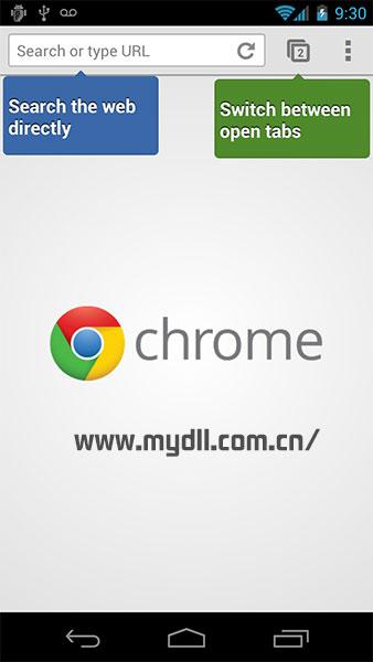 安卓Chrome浏览器