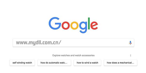Chrome 谷歌搜索建议