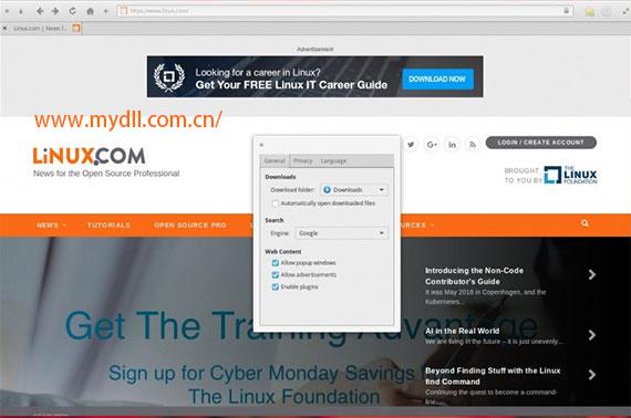 GNOME WEB浏览器