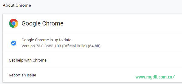 Google Chrome 73.0.3683.103