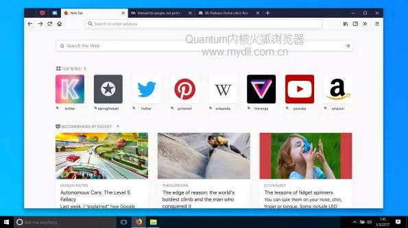 Quantum内核火狐浏览器