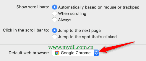 修改Mac默认浏览器